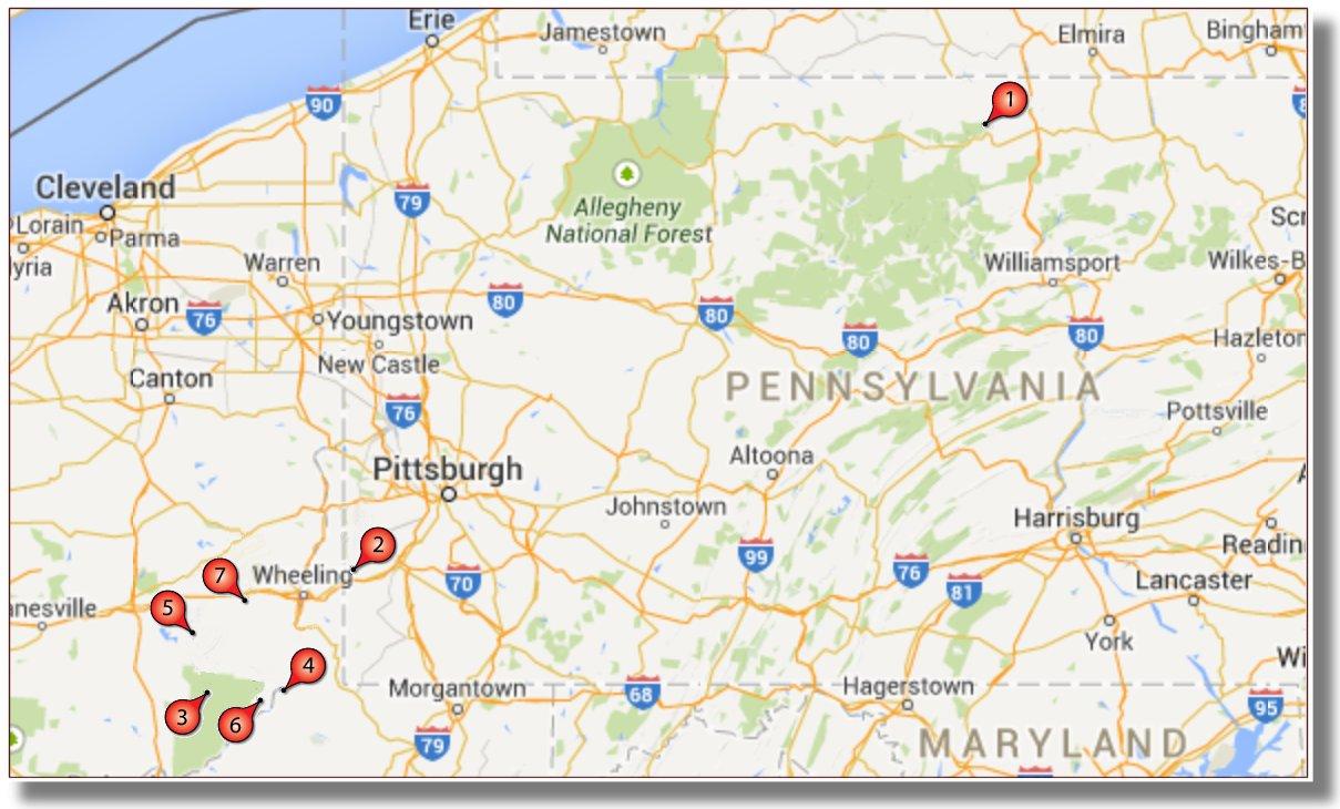 Utica Shale Activity Highlights: April 2015 | Hart Energy