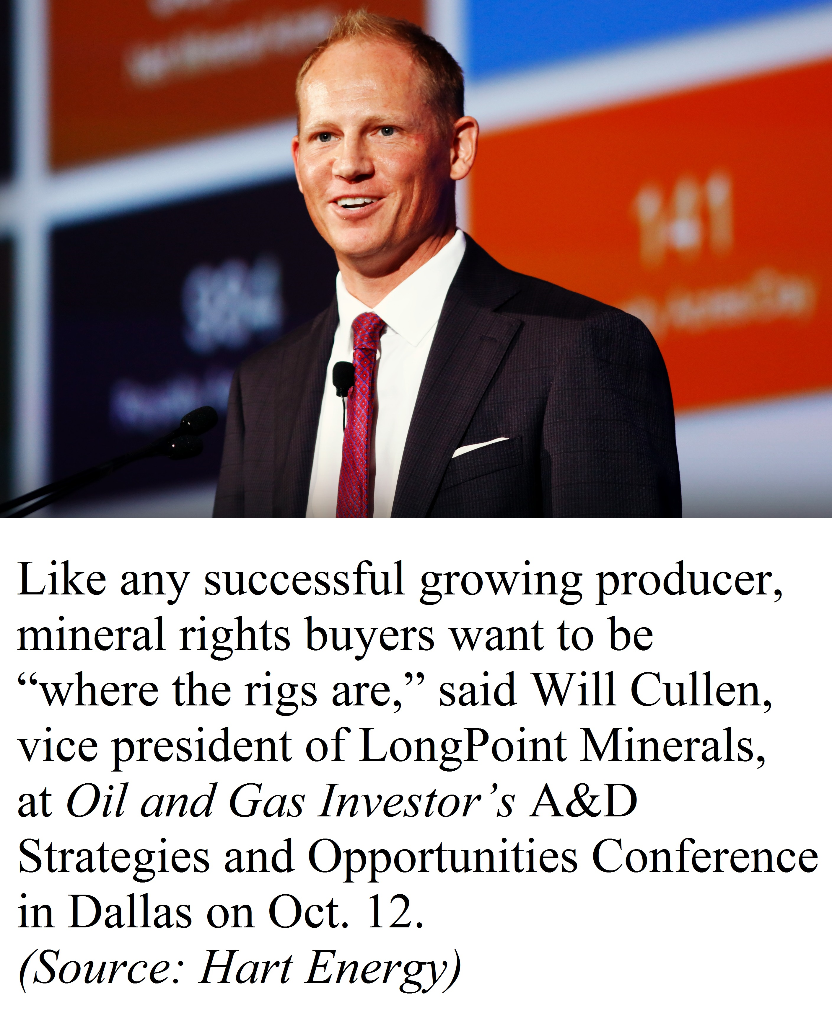 LongPoint Minerals Vice President Will Cullen