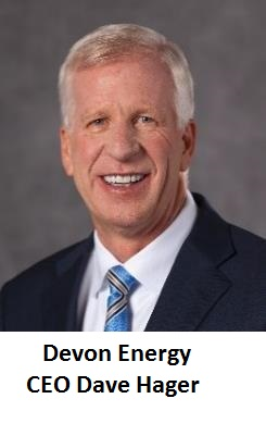 Devon Energy CEO Dave Hager