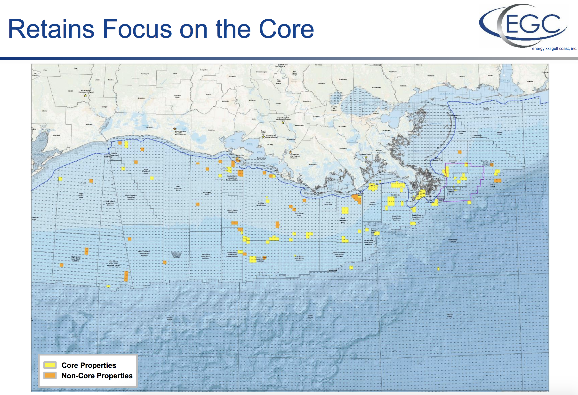 Energy XXI - Retain Focus On The Core (Source: Energy XXI First-Quarter Earnings Call Presentation)