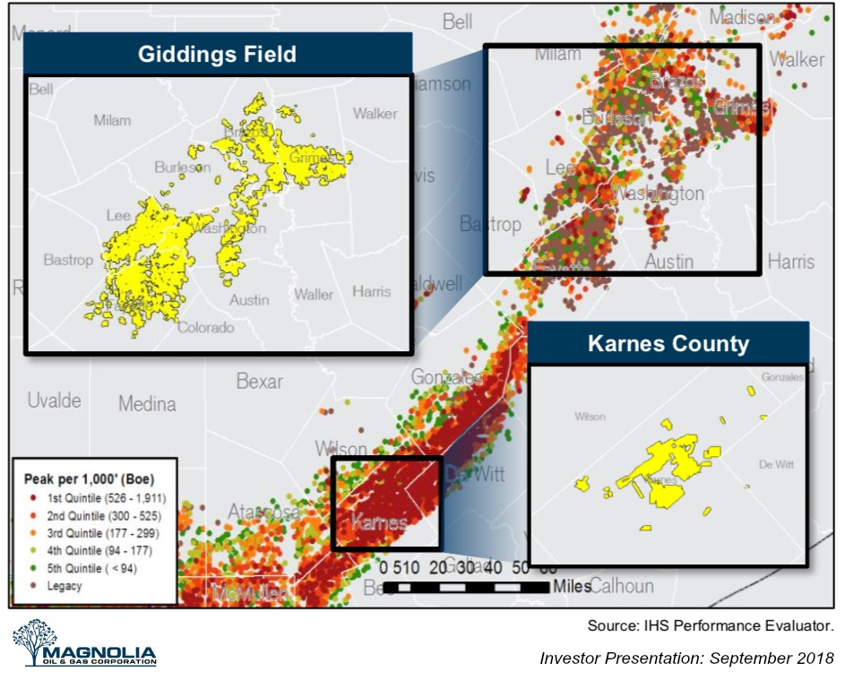 Magnolia Oil & Gas Asset Map (Source: Magnolia Oil & Gas Corp.)