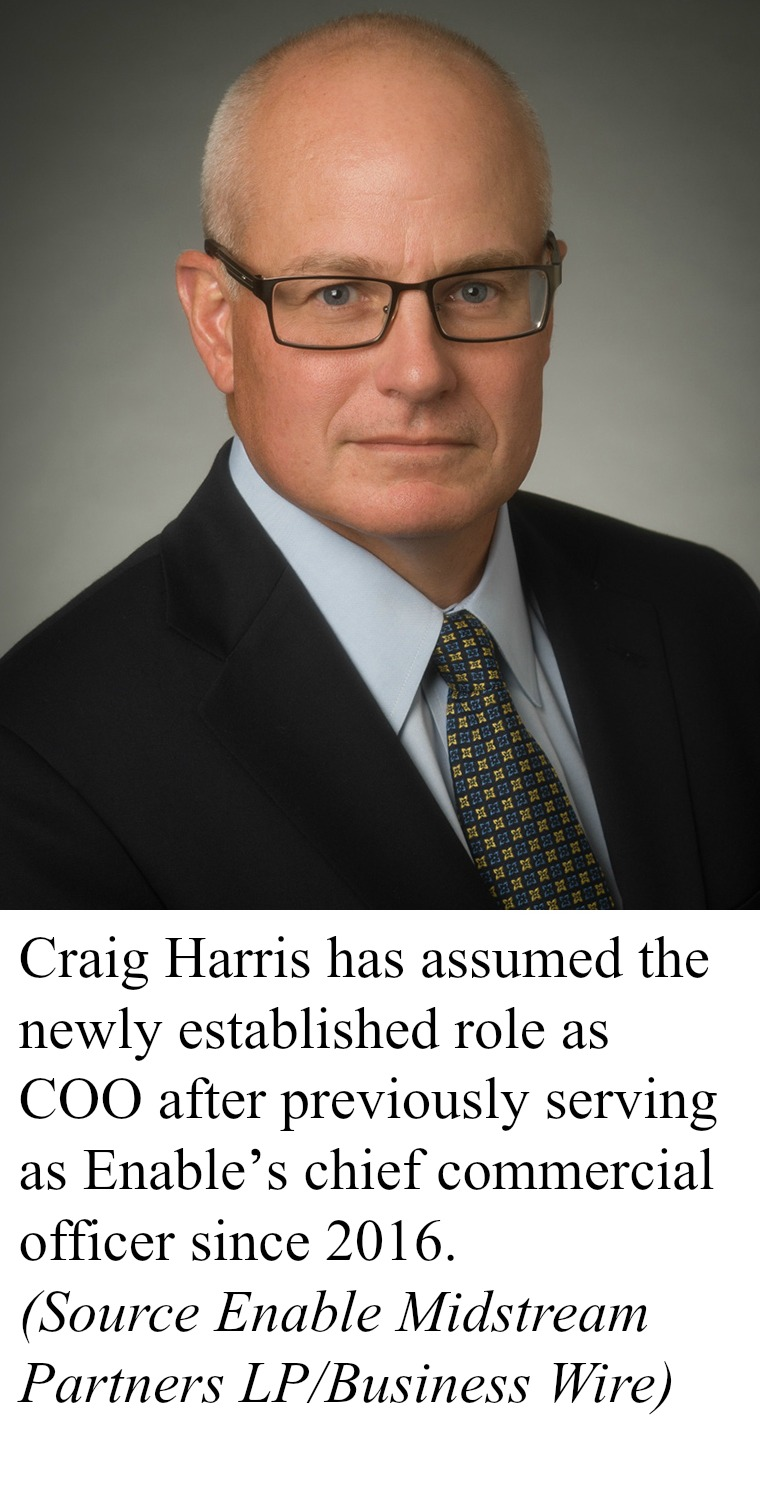 Craig Harris will assume the newly established role as COO after previously serving as Enable's chief commercial officer since 2016.