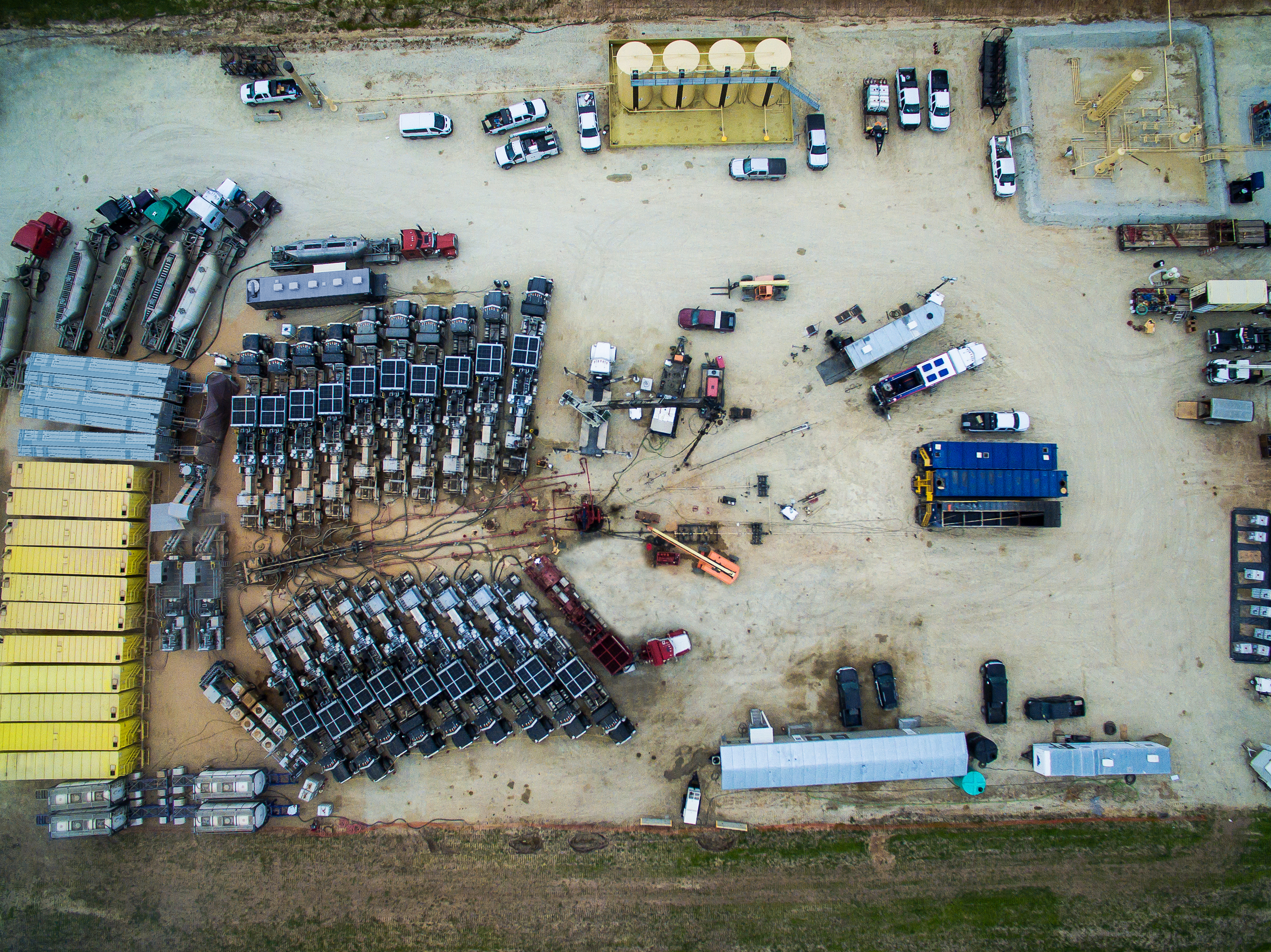 NOV Builds Single-sourced Hydraulic Fracturing Fleet For