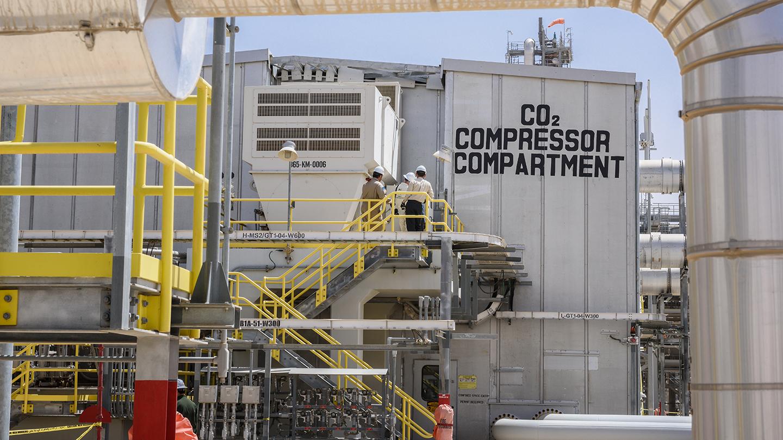 Saudi Aramco - جذب CO2 - CCUS