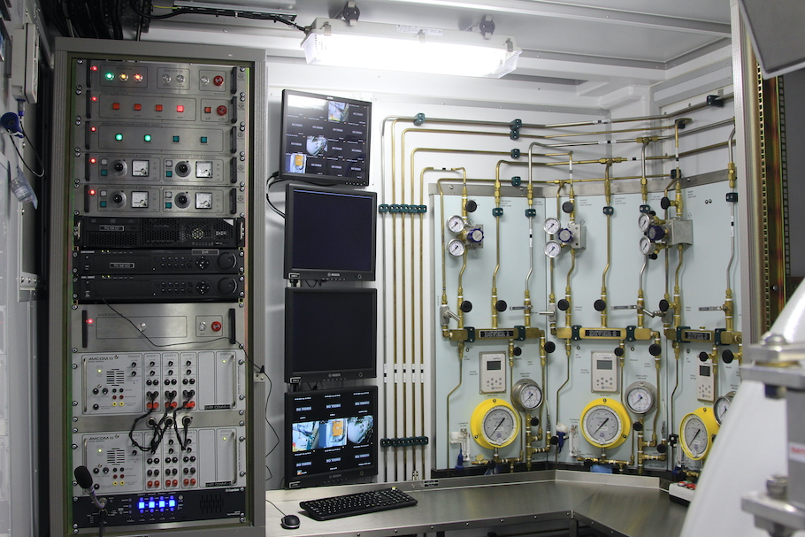 گروه کنترل منحصر به فرد - اتاق غواصی و کنترل ROV