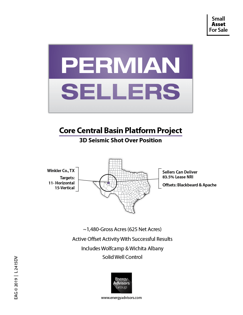 Marketed: Central Basin Platform Package In Winkler County, Texas