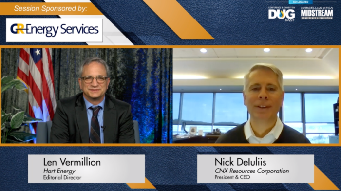 DUG East and Marcellus-Utica Midstream Virtual Conference Keynote: The Coming Reckoning Within Appalachia with CNX Resources' Nick Deluliis