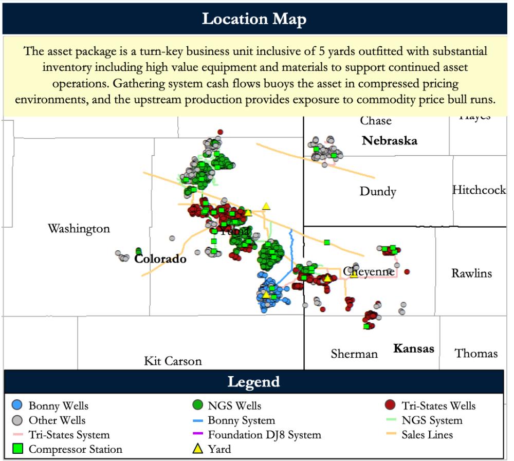 نقشه های بازاریابی مشاوران انرژی بازدارنده - Tristates بالادست و جمع آوری فرصت خرید انحراف