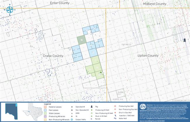 نقشه بازار EnergyNet - فرصت شیل دیاموند بک بارنت وودفورد