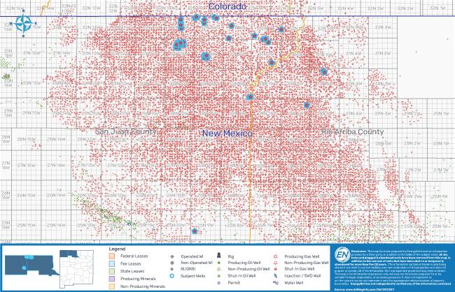 EnergyNet نقشه 2 را به بازار عرضه کرد - بسته بندی مواد معدنی در سراسر آرکانزاس کانزاس نیومکزیکو اوکلاهما