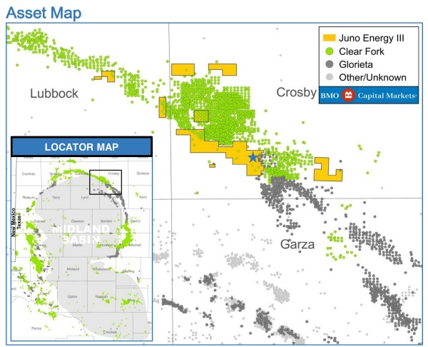 Marketed: Juno Energy Permian Basin Position In Clear Fork