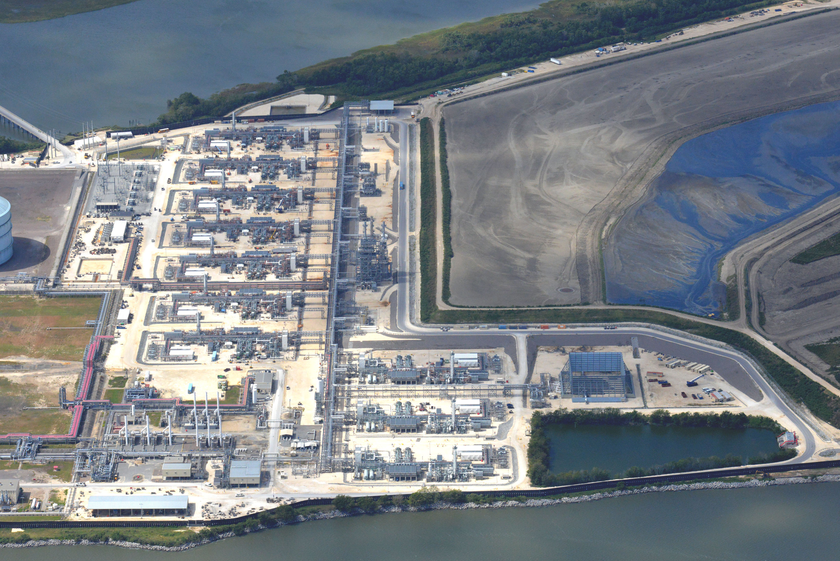 The second LNG export terminal on the U.S. East Coast came into service in early October. Elba Liquefaction is a JV between Kinder Morgan and EIG Global Energy Partners. (Source: Kinder Morgan)