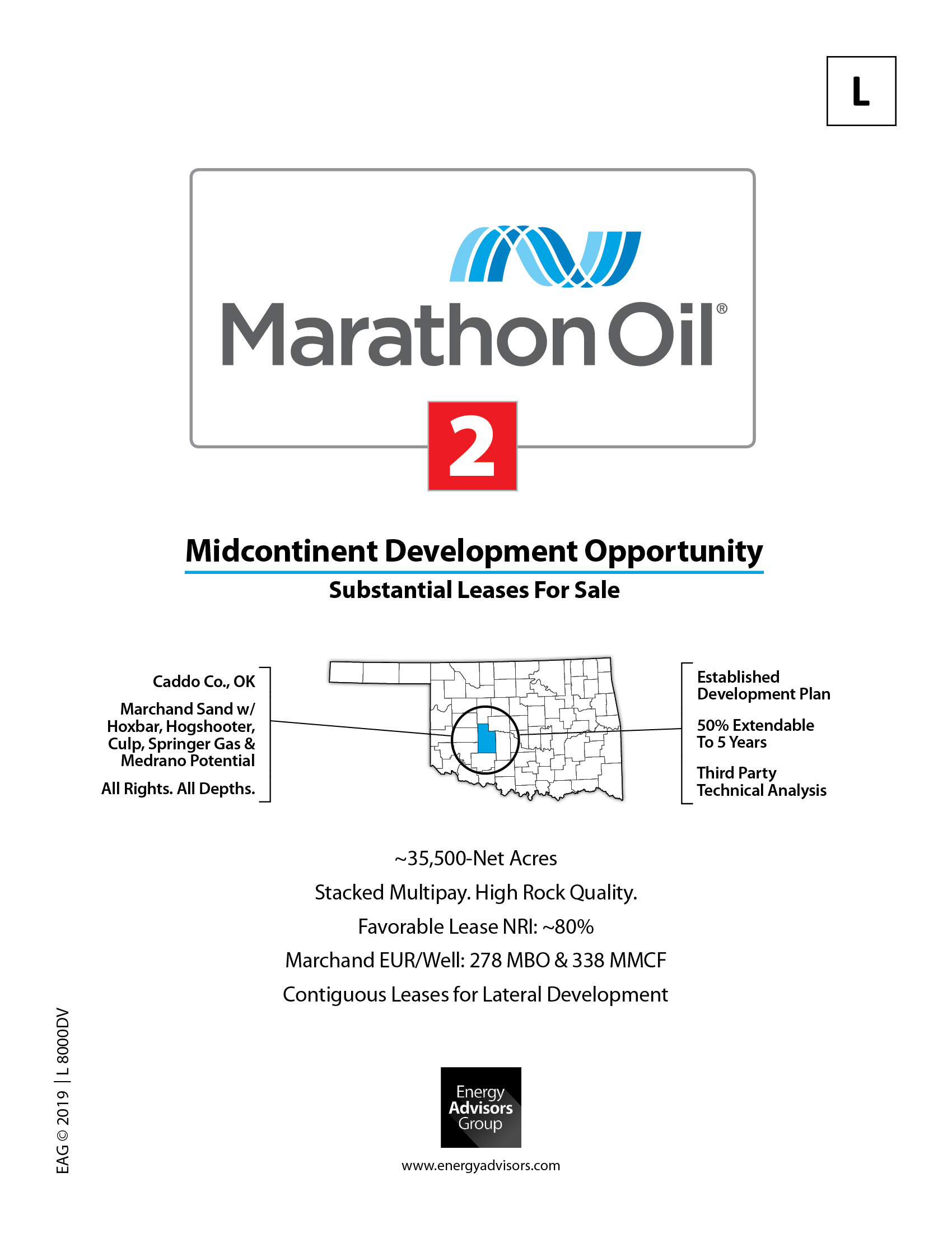 Marketed: Marathon Oil SOHOT Drilling Project