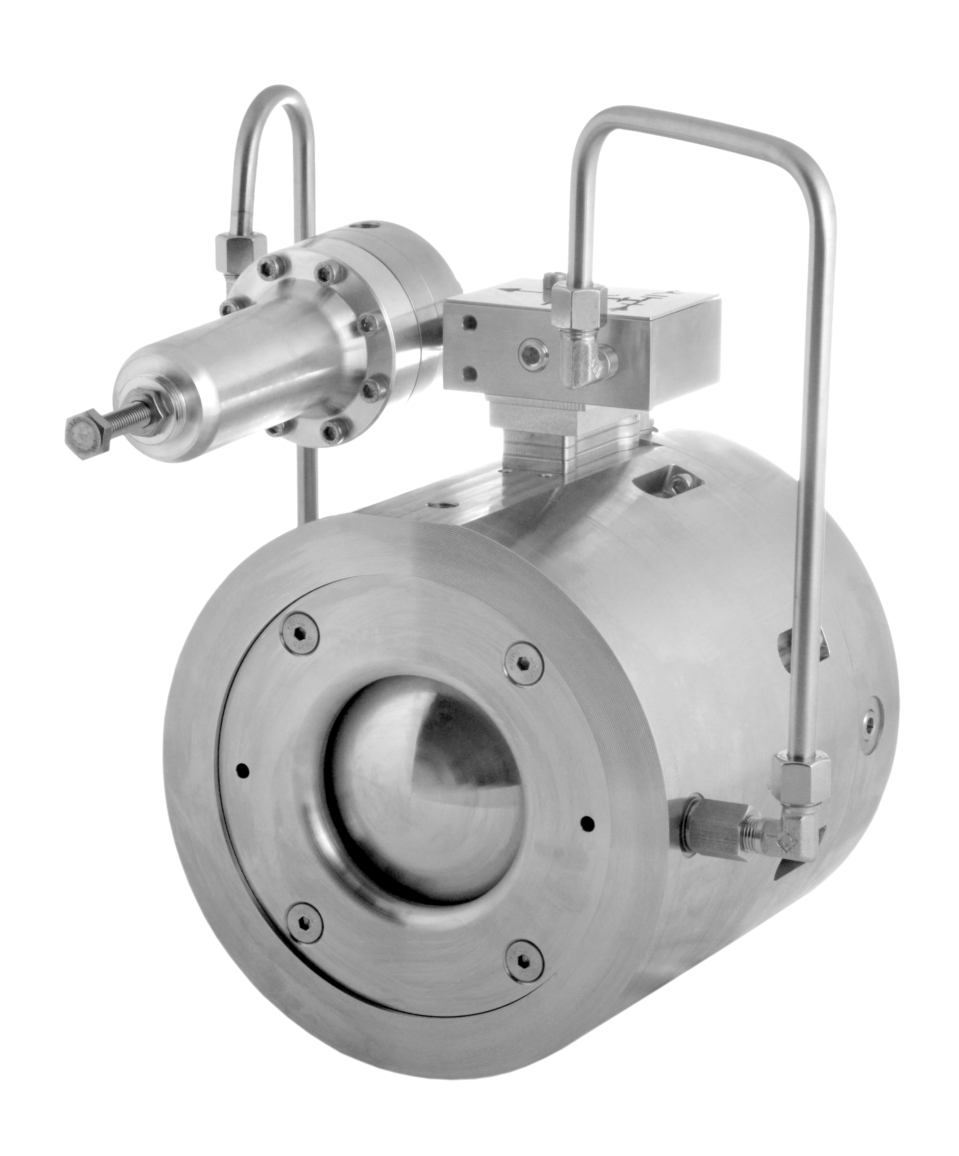 The IM gas regulator valve increases reliability and reduces costs for operators in the gas distribution, power generation, industrial gases, and oil and gas sectors. (Source: Oxford Flow)