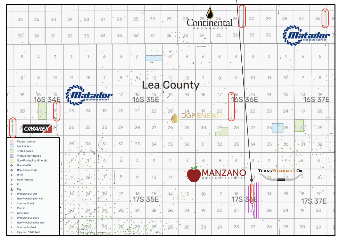 Marketed: Ridge Runner Resources Wolfcamp Shale Permian Basin Assets