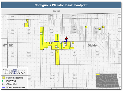 Marketed: Operated Williston Basin Assets, Divide County, North Dakota