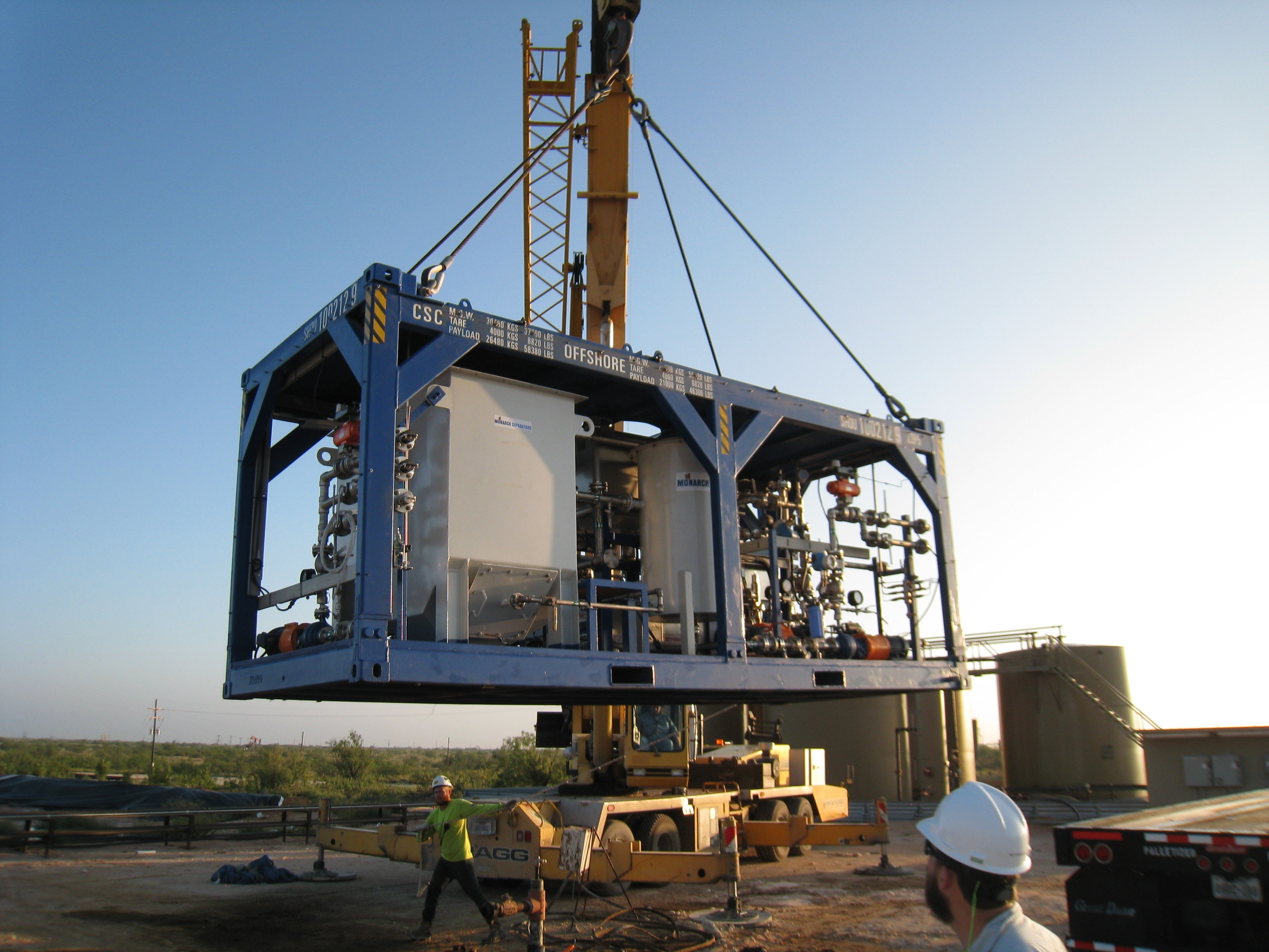 Water Standard's H2O Spectrum mobile system is being delivered in the Permian Basin. (Source: Water Standard)