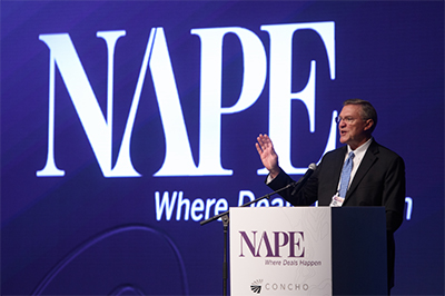Matt Ramsey, president and COO of Energy Transfer. (Source: NAPE)