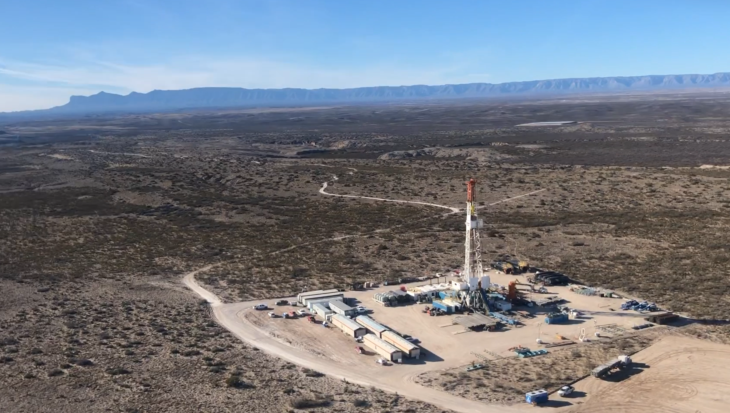 Drilling of BBR's TR UE Blue SWD takes place in Culberson County, Texas. (Source: Blackbuck Resources)
