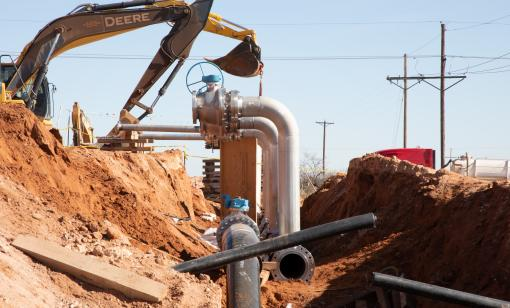 Goodnight Midstream_llano_pipeline_construction