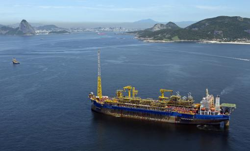 FPSOs, similar to this vessel offshore Brazil, will soon begin drilling operations offshore Guyana. (Source: SBM Offshore)