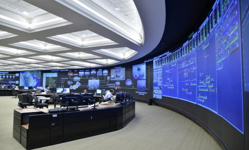 Inside the Saudi Aramco Exploration and Petroleum Engineering Center. (Source: Saudi Aramco)