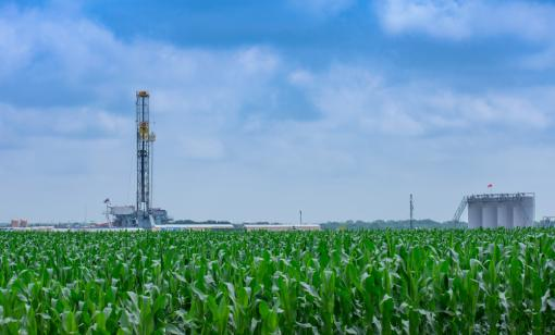 The U.S. Energy Information Administration estimates oil production will fall by about 6,000 barrels per day in the Eagle Ford, shown above, to 1.38 million barrels per day in September. (Source: Shutterstock.com)