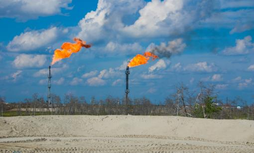 The amount of gas flared has steadily increased, for the most part, in the Permian Basin as oil production has risen in recent years. (Source: Shutterstock.com)