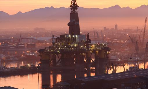 oil rig capetown