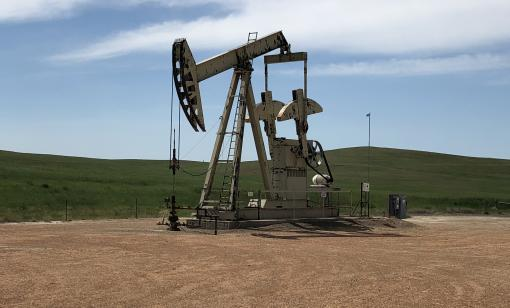 Burning Tree State Pumpjack