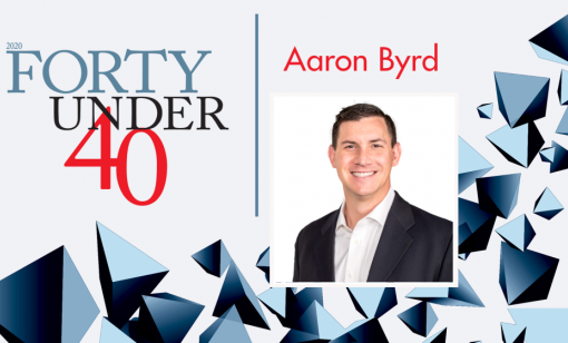 Forty Under 40: Aaron Byrd, Tap Rock Resources