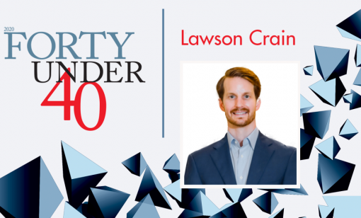 Forty Under 40: Lawson Crain, Cogent Midstream
