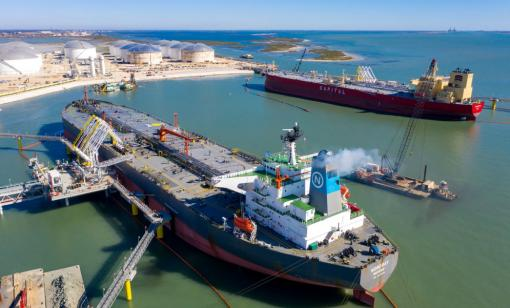 Buckeye Partners Completes Second Deepwater Dock at South Texas Gateway