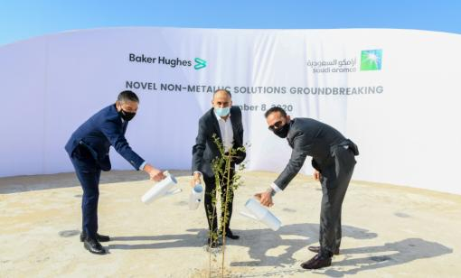 Saudi Aramco, Baker Hughes Form JV to Develop Non-metallic Products