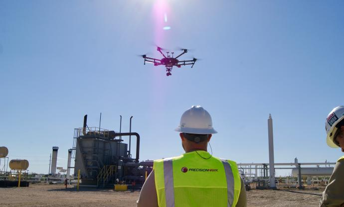 Drones on the Permian Basin: transforming oil and gas operations