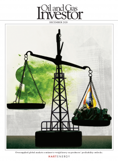 December Oil and Gas Investor cover