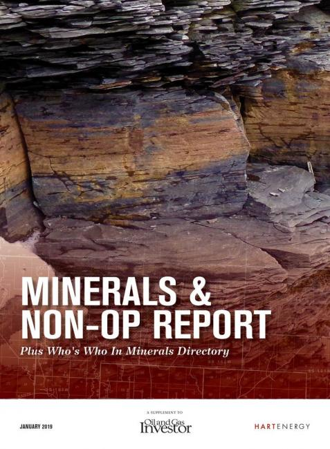 The 2019 Minerals & Non-Op Report + Who's Who in Minerals Directory