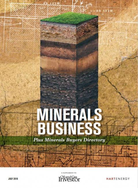 Minerals Business Supplement July 2019