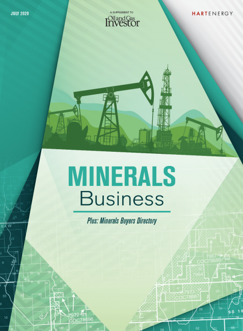 Minerals Business Supplement