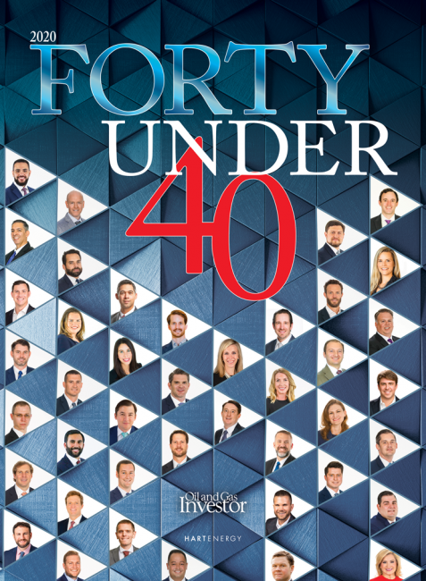 Hart Energy Forty Under 40 supplement 2020