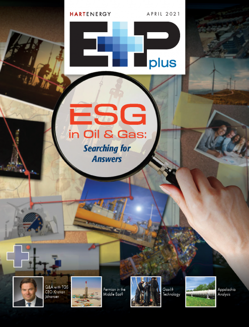 E&P Plus-April 2021 issue-ESG in oil and gas