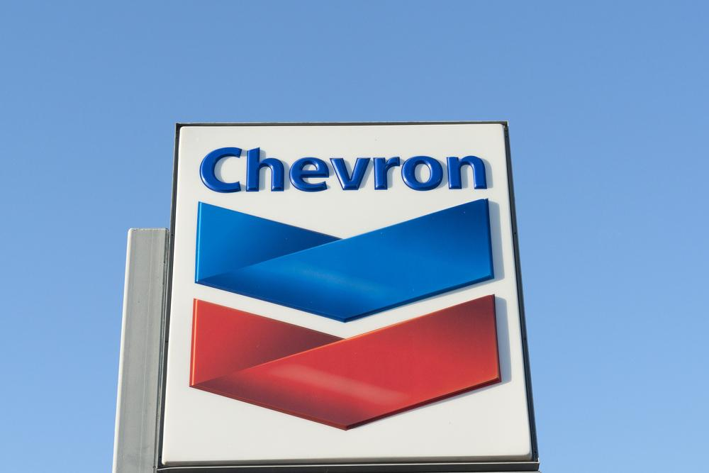 Chevron expects to deliver 3% to 4% annual global production growth through 2023. (Source: Shutterstock.com)