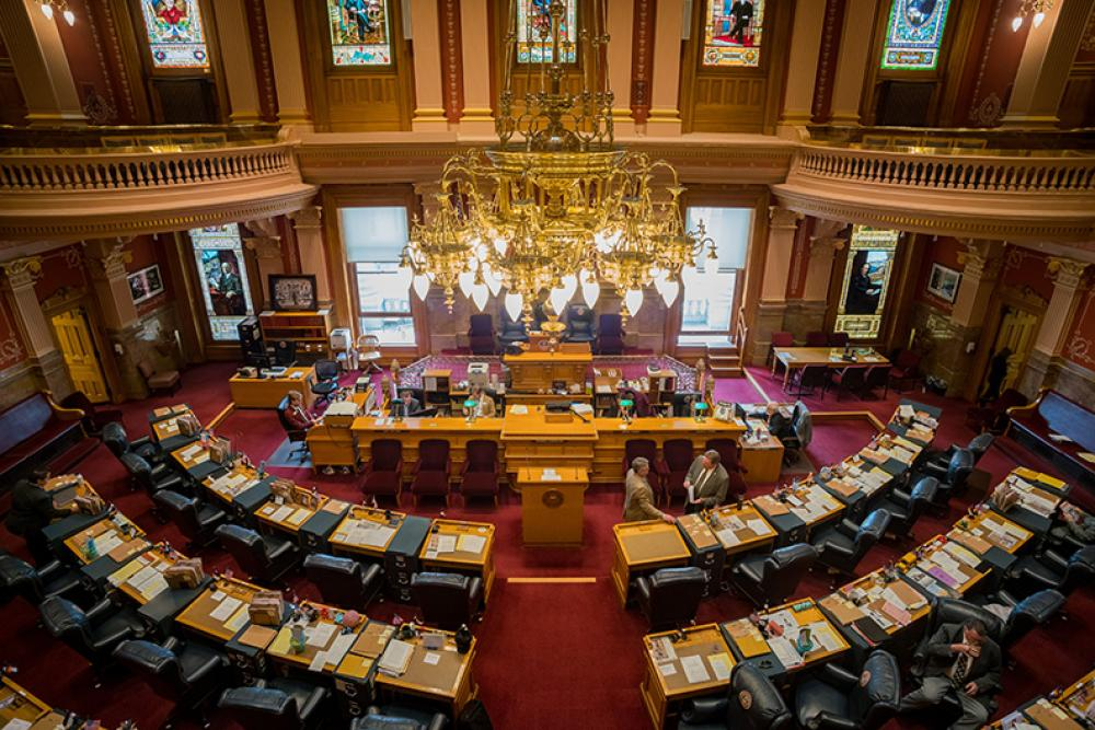 Colorado's historic General Assembly. (Source: Shutterstock.com)