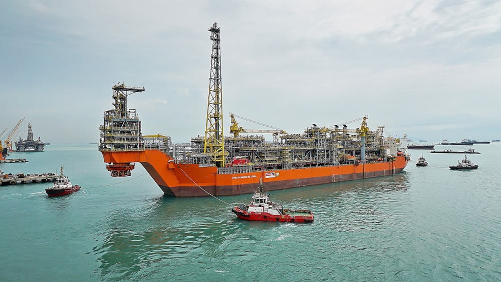 The FPSO Pioneiro de Libra serves the Libra Field offshore Brazil. (Source: Felipe Kateb/ Petrobras)