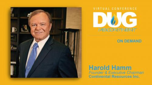 DUG Midcontinent: Special Address; A Fireside Chat With Harold Hamm